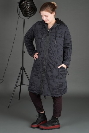 rh195109 - Rundholz Black Label Coat @ Walkers.Style women's and ladies fashion clothing online shop
