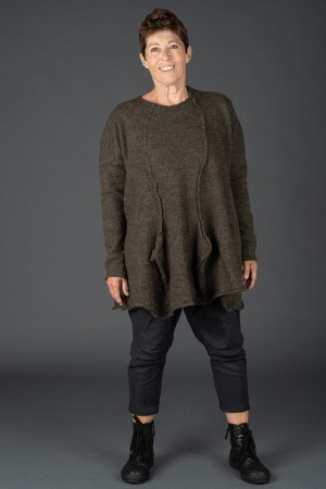 rh195151 - Rundholz Black Label Knitted Tunic @ Walkers.Style women's and ladies fashion clothing online shop