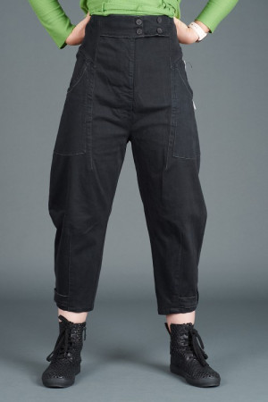 lb195168 - Lurdes Bergada Low Crotch Pants @ Walkers.Style buy women's clothes online or at our Norwich shop.