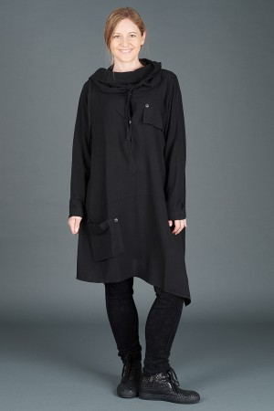 lb195174 - Lurdes Bergada Oversized Tunic @ Walkers.Style women's and ladies fashion clothing online shop