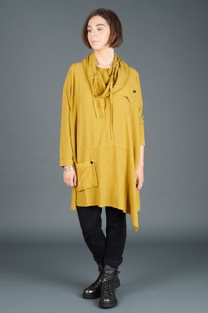 lb195174 - Lurdes Bergada Oversized Tunic @ Walkers.Style women's and ladies fashion clothing online shop