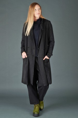 lb195178 - Lurdes Bergada Long Buttoned Jacket @ Walkers.Style women's and ladies fashion clothing online shop