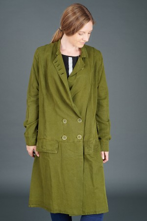 lb195178 - Lurdes Bergada Long Buttoned Jacket @ Walkers.Style buy women's clothes online or at our Norwich shop.