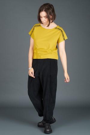 lb195184 - Lurdes Bergada Stripe T-Shirt @ Walkers.Style women's and ladies fashion clothing online shop