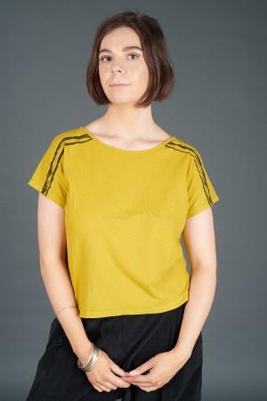 lb195184 - Lurdes Bergada Stripe T-Shirt @ Walkers.Style buy women's clothes online or at our Norwich shop.