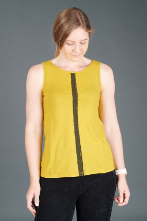 lb195185 - Lurdes Bergada Stripe Tank Tee @ Walkers.Style buy women's clothes online or at our Norwich shop.