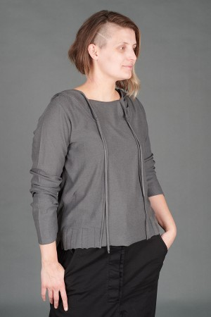 lb195194 - Lurdes Bergada Hoodie Pullover @ Walkers.Style buy women's clothes online or at our Norwich shop.