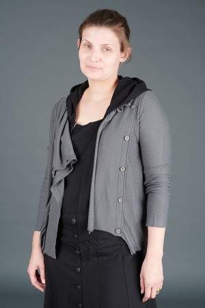 lb195195 - Lurdes Bergada Knitted Buttoned Jacket @ Walkers.Style buy women's clothes online or at our Norwich shop.