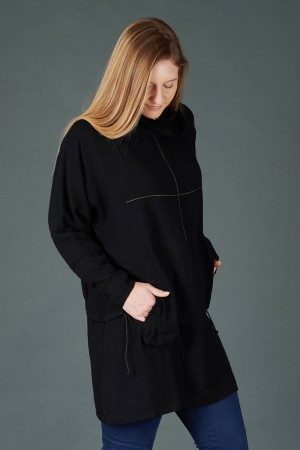 lb195197 - Lurdes Bergada Pocket Oversize Top @ Walkers.Style buy women's clothes online or at our Norwich shop.