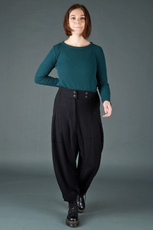 lb195199 - Lurdes Bergada Cargo Trousers @ Walkers.Style women's and ladies fashion clothing online shop
