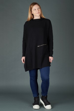 lb195201 - Lurdes Bergada Oversized Tunic Top @ Walkers.Style women's and ladies fashion clothing online shop