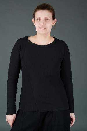 lb195202 - Lurdes Bergada Long Sleeve Tee @ Walkers.Style buy women's clothes online or at our Norwich shop.