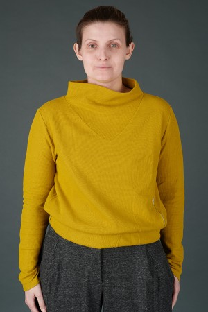 lb195203 - Lurdes Bergada Cropped Elasticated Top @ Walkers.Style buy women's clothes online or at our Norwich shop.