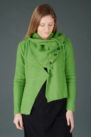 lb195205 - Lurdes Bergada Knitted Buttoned Jacket @ Walkers.Style buy women's clothes online or at our Norwich shop.