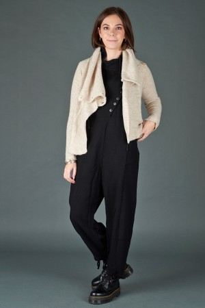 lb195205 - Lurdes Bergada Knitted Buttoned Jacket @ Walkers.Style women's and ladies fashion clothing online shop
