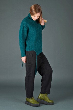 lb195206 - Lurdes Bergada Oversized Knitted Pullover @ Walkers.Style women's and ladies fashion clothing online shop