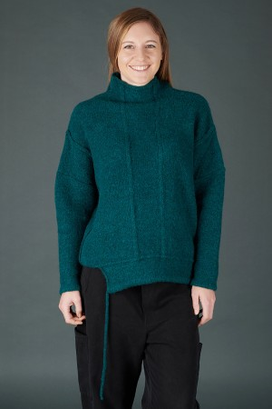 lb195206 - Lurdes Bergada Oversized Knitted Pullover @ Walkers.Style buy women's clothes online or at our Norwich shop.