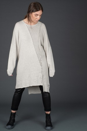 sb195212 - StudioB3 Nora Patchwork Tunic @ Walkers.Style women's and ladies fashion clothing online shop