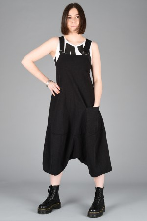 lb200002 - Lurdes Bergada Low crotch overalls @ Walkers.Style women's and ladies fashion clothing online shop