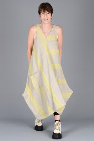 lb200004 - Lurdes Bergada Striped Dress @ Walkers.Style women's and ladies fashion clothing online shop