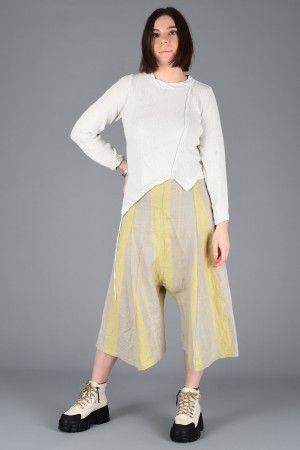 lb200006 - Lurdes Bergada Striped Low Crotch Pants @ Walkers.Style buy women's clothes online or at our Norwich shop.