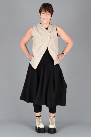 lb200009 - Lurdes Bergada Waistcoat @ Walkers.Style women's and ladies fashion clothing online shop