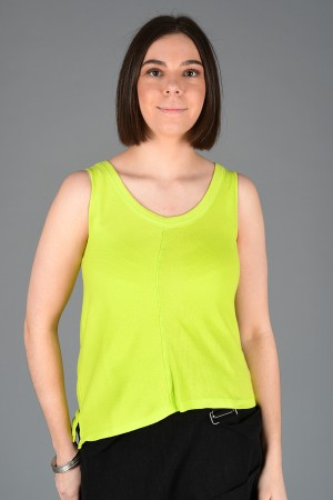 lb200014 - Lurdes Bergada Ribbed T-Shirt @ Walkers.Style buy women's clothes online or at our Norwich shop.