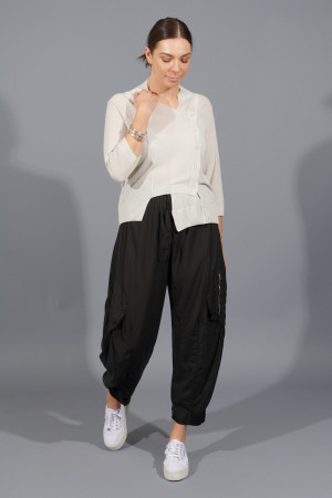 lb200022 - Lurdes Bergada Cargo Trousers @ Walkers.Style women's and ladies fashion clothing online shop