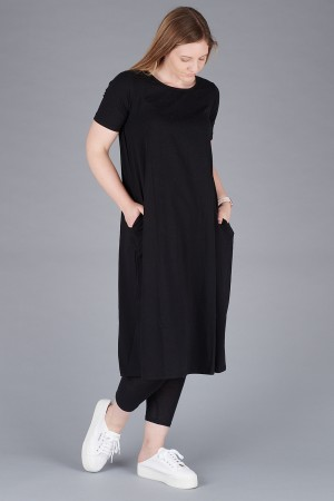 mb200035 - Mamab Paros T-shirt dress @ Walkers.Style women's and ladies fashion clothing online shop