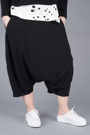 mb200048 - Mamab Rusce Low crotch Trousers @ Walkers.Style women's and ladies fashion clothing online shop