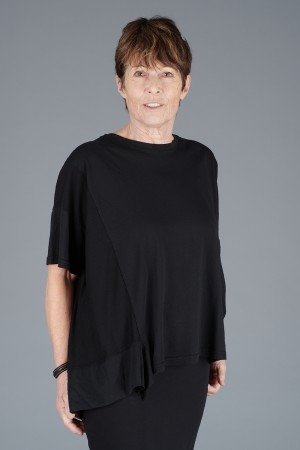 mb200054 - Mamab Brezza Top @ Walkers.Style buy women's clothes online or at our Norwich shop.