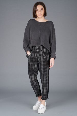 NR200064 - Nor Checked Trousers @ Walkers.Style women's and ladies fashion clothing online shop