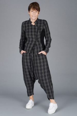 NR200065 - Nor Baggy Checked Trousers @ Walkers.Style buy women's clothes online or at our Norwich shop.