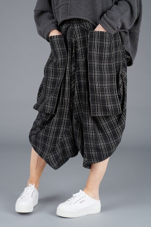 NR200066 - Nor Checked Harems @ Walkers.Style women's and ladies fashion clothing online shop