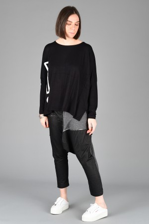 NR200070 - Nor Jersey ! Oversized Top @ Walkers.Style women's and ladies fashion clothing online shop