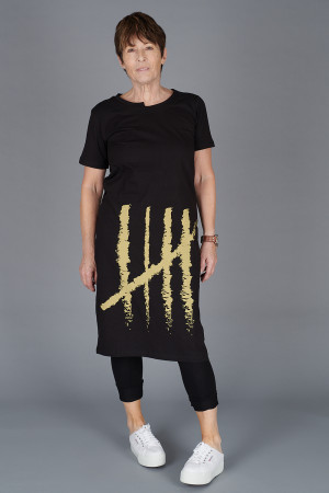 NR200078 - Nor Printed Dress @ Walkers.Style women's and ladies fashion clothing online shop