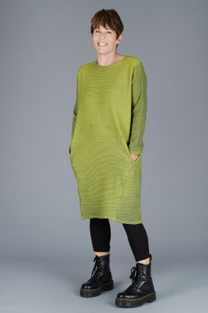 KK200085 - Knit Knit Ribbed Tunic @ Walkers.Style women's and ladies fashion clothing online shop