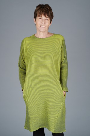 KK200085 - Knit Knit Ribbed Tunic @ Walkers.Style buy women's clothes online or at our Norwich shop.