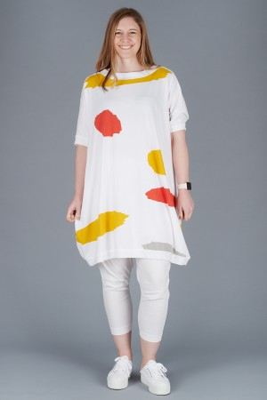 KK200094 - Knit Knit Abstract Tunic @ Walkers.Style women's and ladies fashion clothing online shop