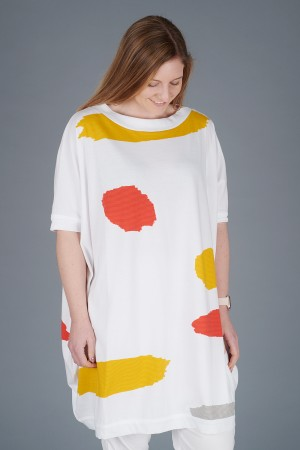 KK200094 - Knit Knit Abstract Tunic @ Walkers.Style buy women's clothes online or at our Norwich shop.