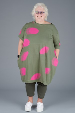 KK200095 - Knit Knit Abstract Tunic @ Walkers.Style women's and ladies fashion clothing online shop