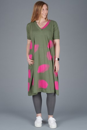 KK200096 - Knit Knit Abstract Dress @ Walkers.Style women's and ladies fashion clothing online shop