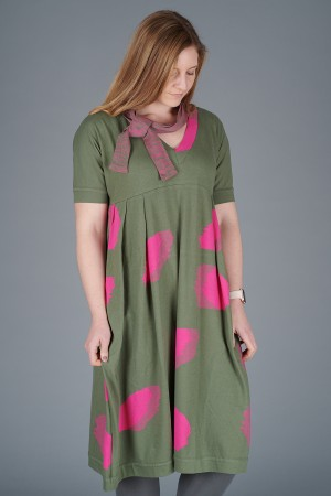 KK200096 - Knit Knit Abstract Dress @ Walkers.Style buy women's clothes online or at our Norwich shop.