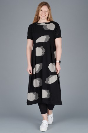 KK200097 - Knit Knit Abstract Dress @ Walkers.Style women's and ladies fashion clothing online shop