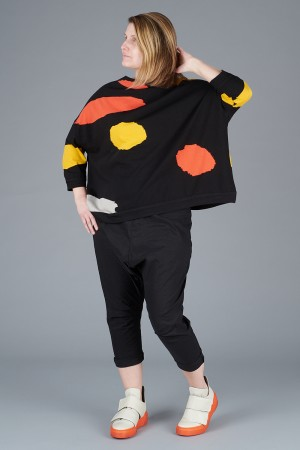 KK200098 - Knit Knit Abstract Top @ Walkers.Style women's and ladies fashion clothing online shop
