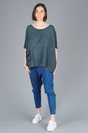 LK200101 - Luukaa Gloria Boxy Top @ Walkers.Style women's and ladies fashion clothing online shop
