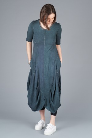 LK200109 - Luukaa Short Sleeve Gloria Dress @ Walkers.Style women's and ladies fashion clothing online shop
