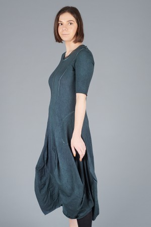 LK200109 - Luukaa Short Sleeve Gloria Dress @ Walkers.Style buy women's clothes online or at our Norwich shop.