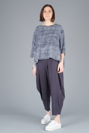 LK200111 - Luukaa Jill Low Crotch Trousers @ Walkers.Style buy women's clothes online or at our Norwich shop.
