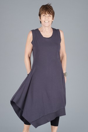 LK200113 - Luukaa Jill Sleeveless Dress @ Walkers.Style buy women's clothes online or at our Norwich shop.
